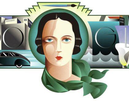 Google Doodle pays tribute to Art Deco artist Tamara de Lempicka     - CNET